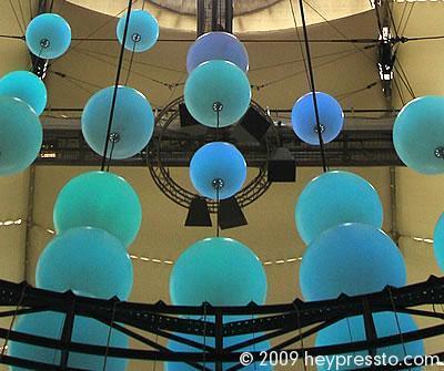 02 Balls - The O2 - Millennium Dome in Greenwich