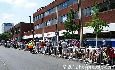 Ballards Lane, Olympic Torch Day 2012