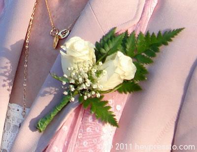 Bride's buttonhole