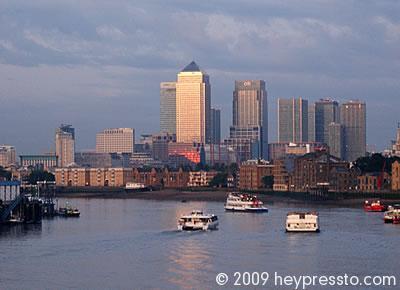 Canary Wharf & Boats