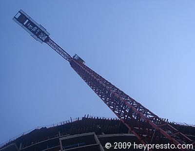 Crane at Vauxhall