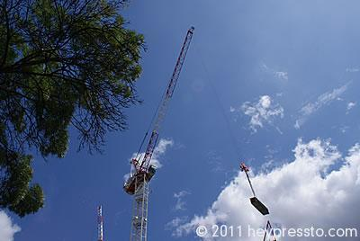 Crane with Load