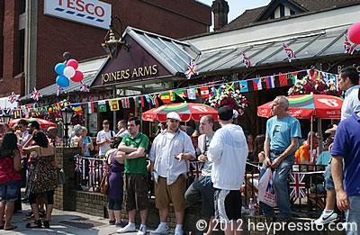 The Joiners Arms on Olympic Torch Day #2