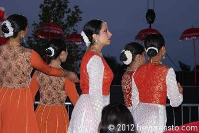 Kathak Dancers Enter