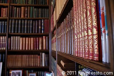 Wedding venue library