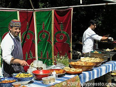 Moroccan Food Stall